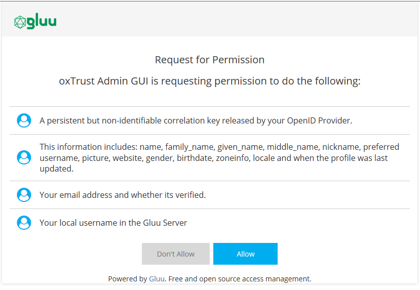 Interception Scripts - Gluu Server 3 1 6 Docs