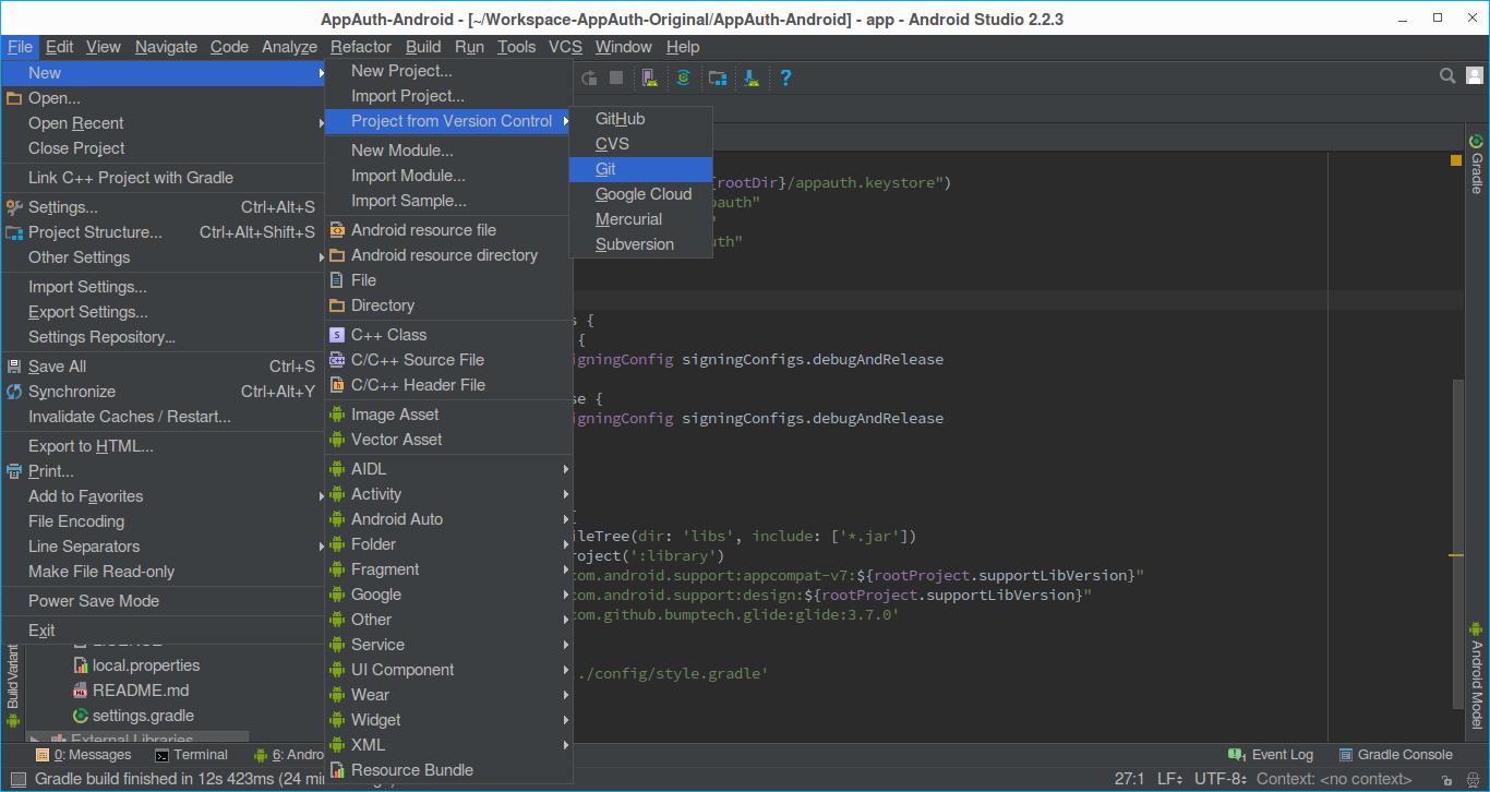 AppAuth Android - Gluu Server 3 1 6 Docs