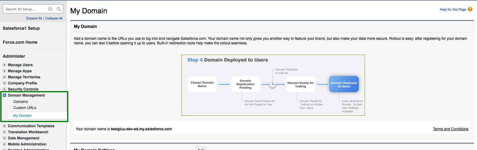 Salesforce - Gluu Server 3 1 6 Docs