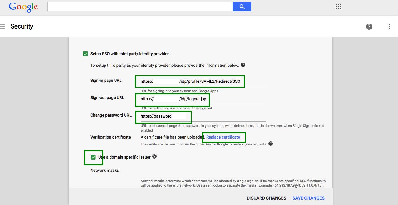 Google Apps Gluu Docs